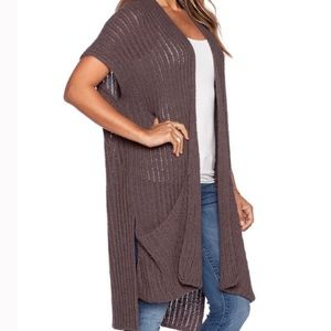 Free People Slouchy Open Cardigan SZ S NWT